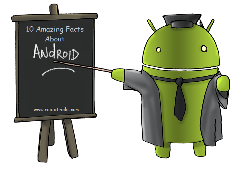 Amazing Facts About Android