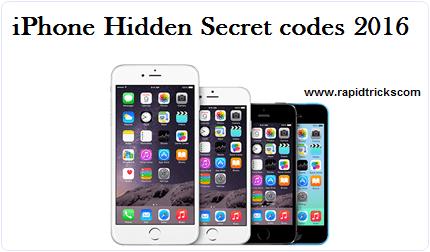 IPhone best hidden secret codes 2016
