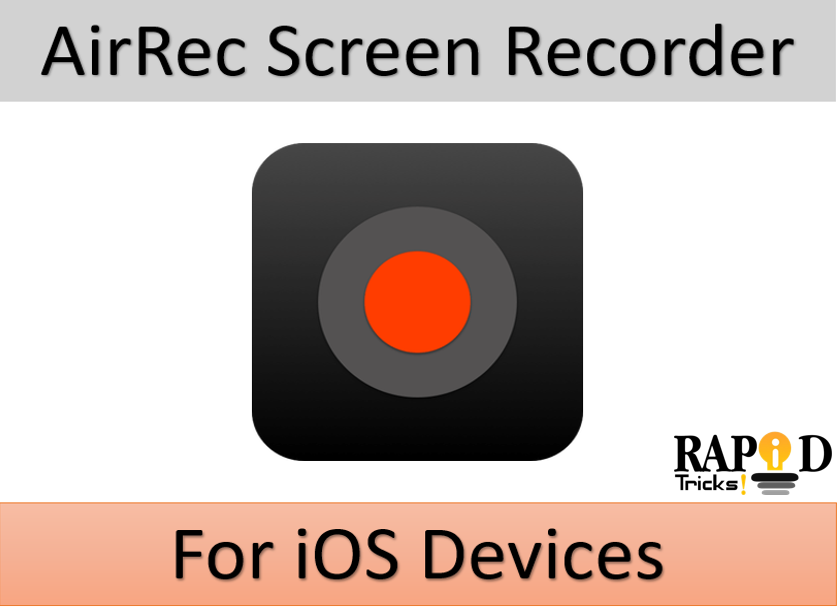 AirRec Screen Recorder